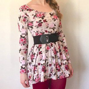 Sweet Floral Baby Doll Dress - $6 SUMMER SALE ITEM